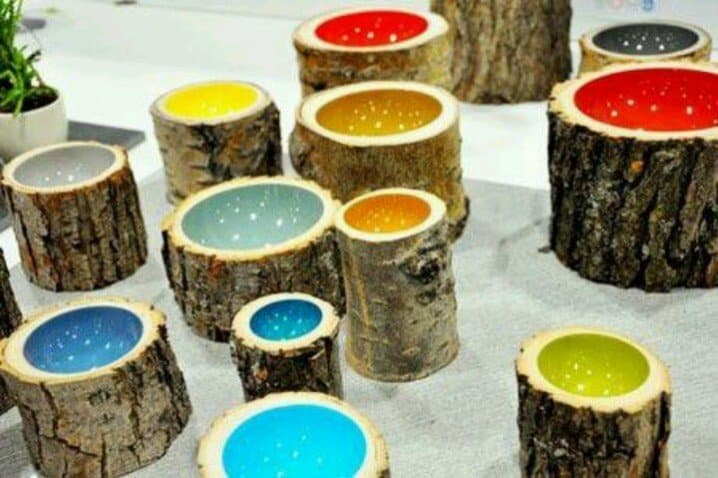 35 tree trunk ideas for a warm decor homesthetics for 4 h decoration ideas