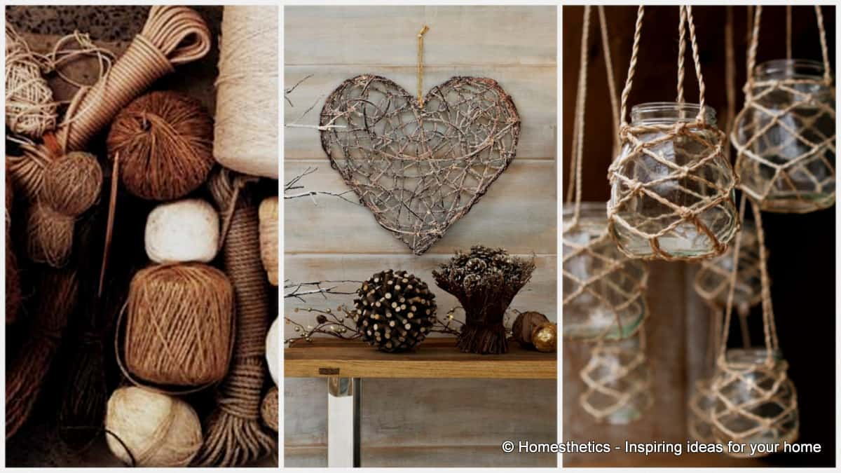 Decorating Ideas For Your Home Part - 32: 15 Beautiful Rope Crafts For Timeless Decor Ideas