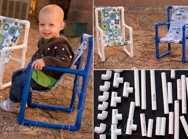 13. BUILD A LOVELY COLORFUL TODDLER CHAIR