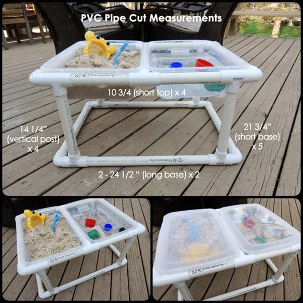 19. TAILOR A SAND AND WATER TABLE