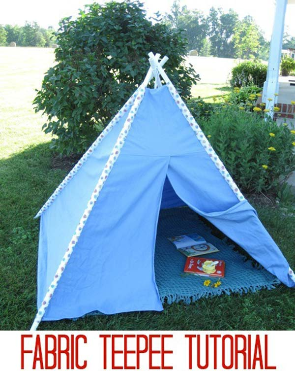 21 super cool diy pvc pipe projects worth realizing homesthetics 20 tailor a fabric teepee outdoors solutioingenieria Images