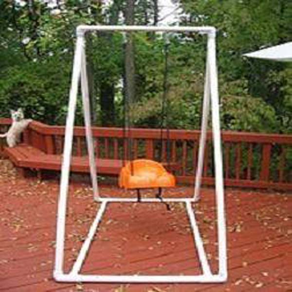 7. TAILOR A CUTE PVC BABY SWING