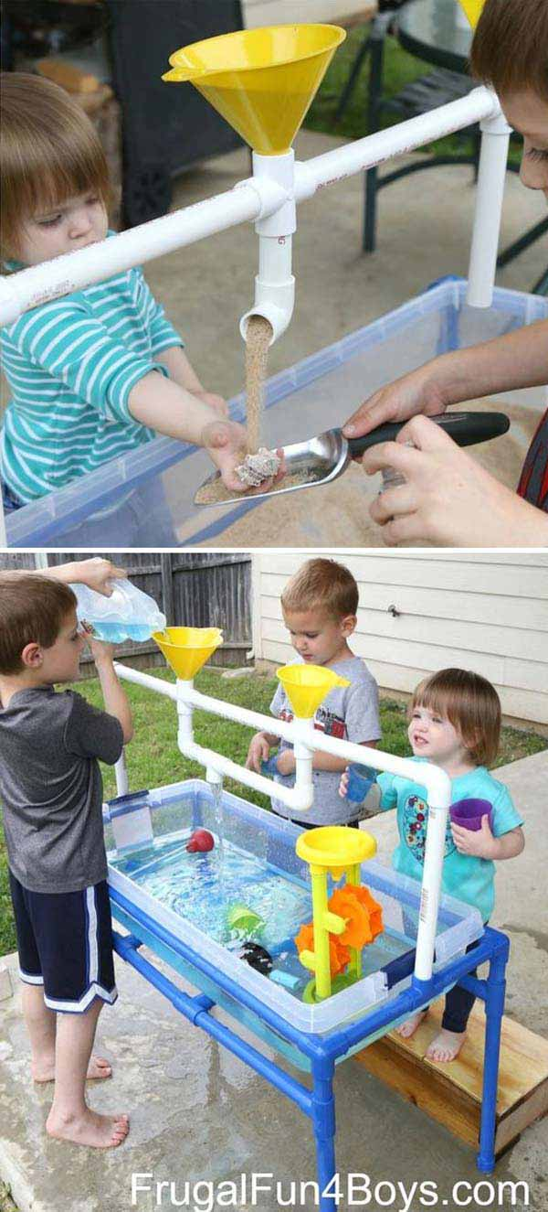 8. CREATE TUBES AND FUNNELS OUT OF PVC