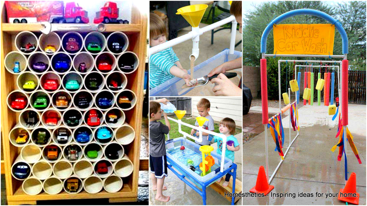 21 super cool diy pvc pipe projects worth realizing for Pvc pipe projects ideas