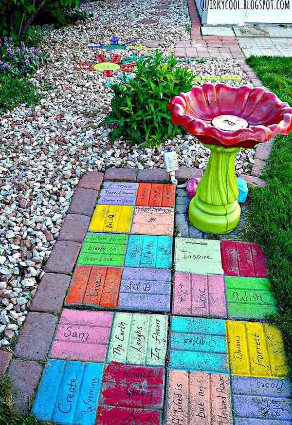 23 Beautiful and Ingenious Brick Projects For Your Home homesthetics decor (4)
