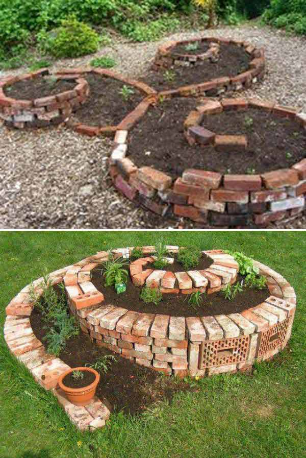 23 Beautiful and Ingenious Brick Projects For Your Home homesthetics decor (5)