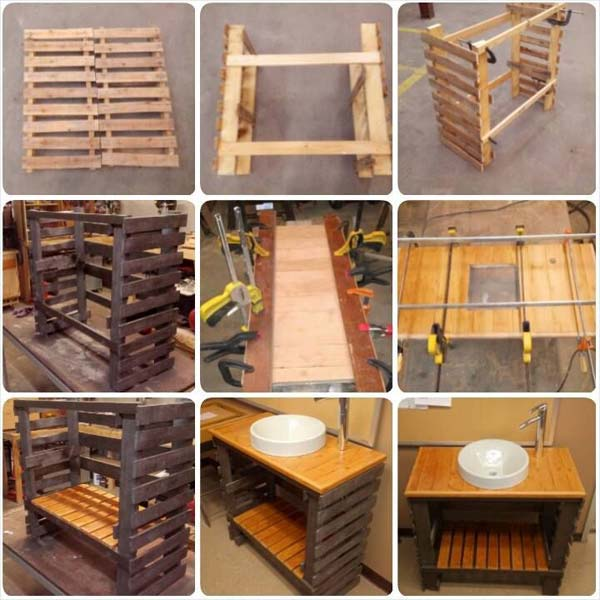 5. TAILOR AN EPIC WOODEN PALLET VANITY CABINET