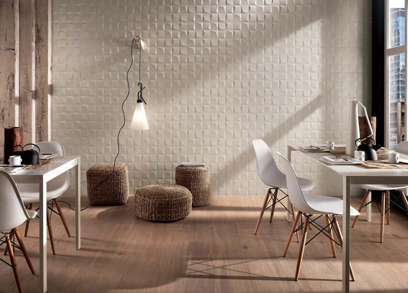 25 Spectacular 3D Wall Tile Designs To Boost Depth And Texture Homesthetics  Ideas (1)