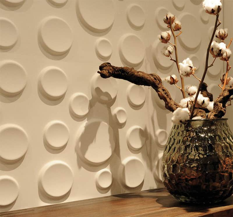 25 Spectacular 3D Wall Tile Designs To Boost Depth and Texture homesthetics ideas (12)