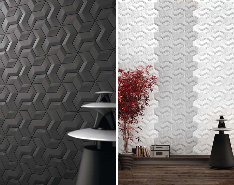 25 Spectacular 3D Wall Tile Designs To Boost Depth And Texture Homesthetics Ideas 13