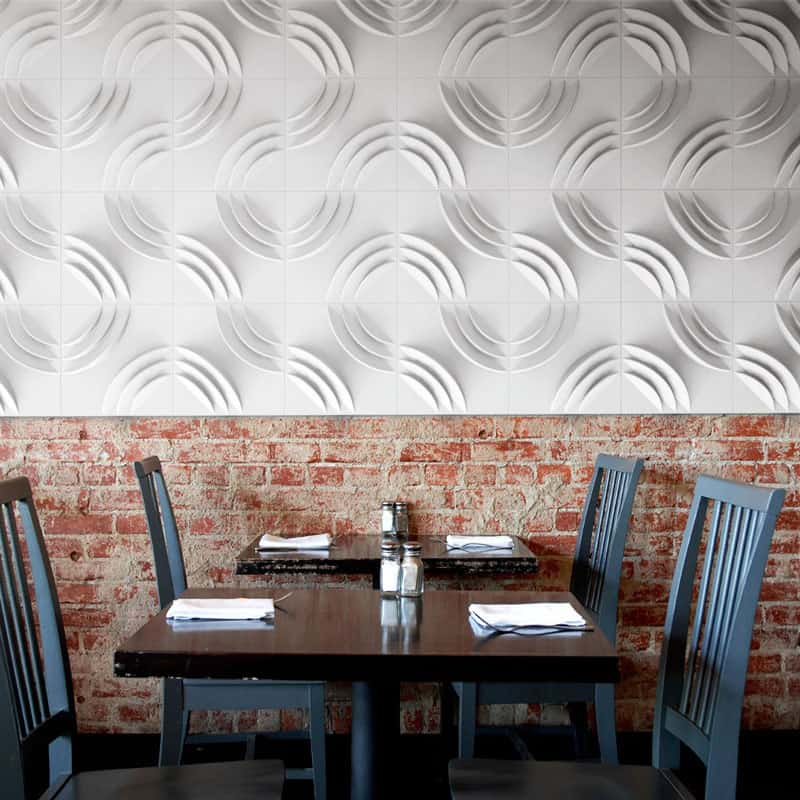25 Spectacular 3D Wall Tile Designs To Boost Depth and Texture homesthetics ideas (20)