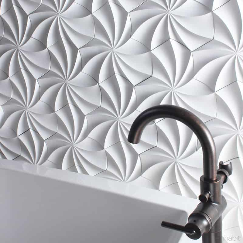 25 Spectacular 3D Wall Tile Designs To Boost Depth and Texture ...