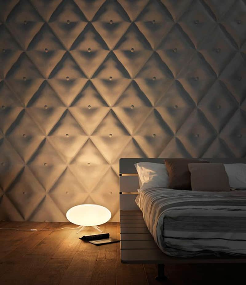25 Spectacular 3D Wall Tile Designs To Boost Depth and Texture homesthetics ideas (24)