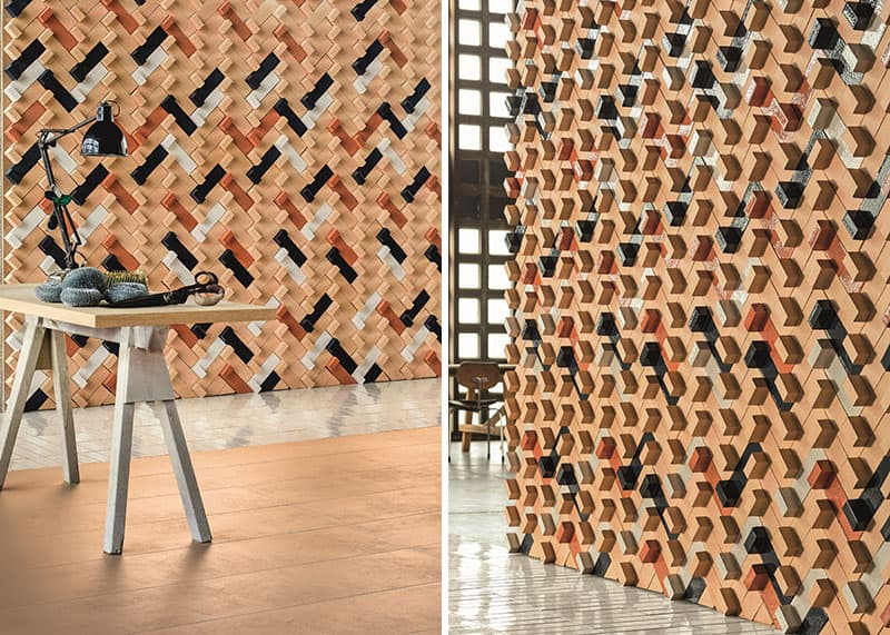 25 Spectacular 3D Wall Tile Designs To Boost Depth and Texture homesthetics ideas (4)