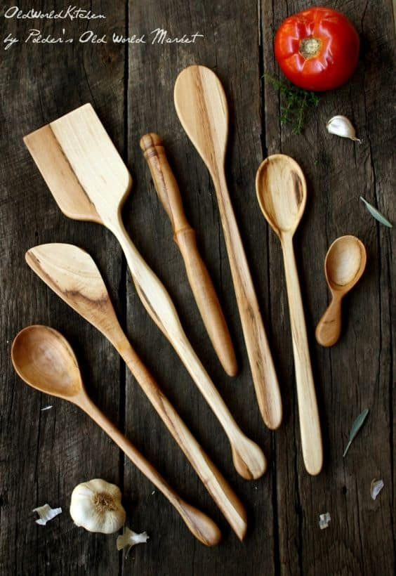28 Delicate Beautiful Wooden Kitchen Utensils-homesthetics (14)