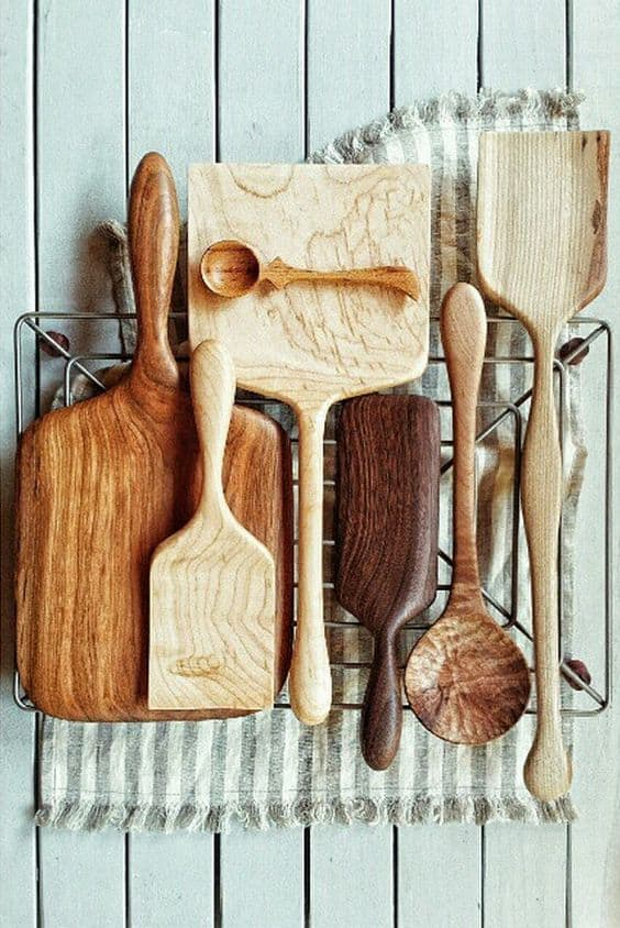 28 Delicate Beautiful Wooden Kitchen Utensils-homesthetics (17)