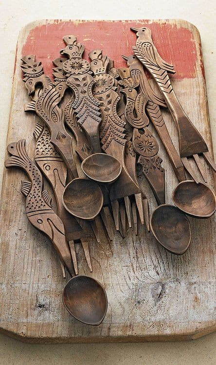 28 Delicate Beautiful Wooden Kitchen Utensils-homesthetics (26)