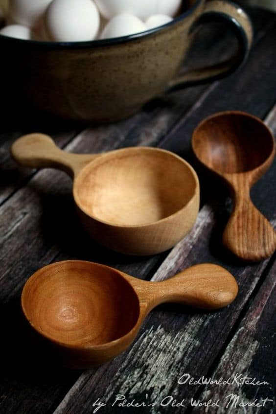 28 Delicate Beautiful Wooden Kitchen Utensils-homesthetics (3)