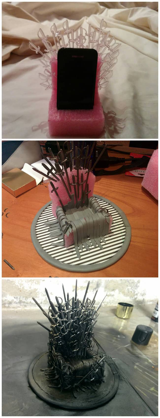 25 brilliant game of thrones diy projects - all men must craft