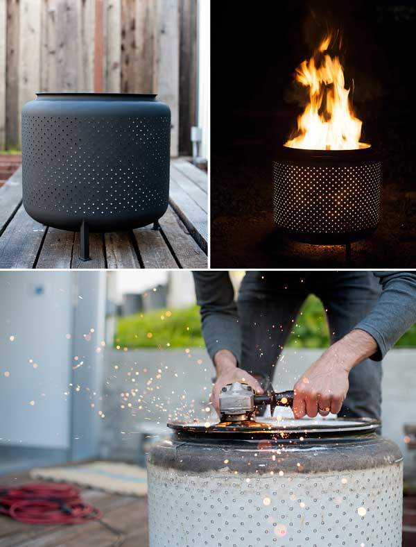WASHING MACHINES DIY FIRE PITS COULD BE EXTRAORDINARY