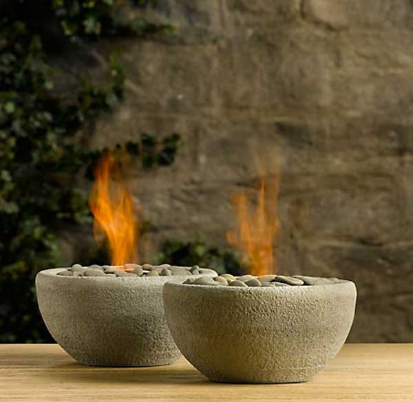 PETITE BOWL FIRE PITS READY TO BRING COZINESS  AND WARMTH