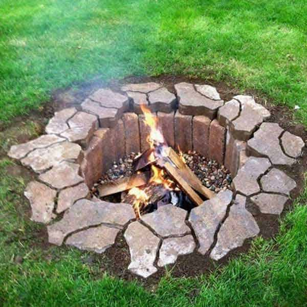 BRICKS MIGHT BE ALL YOU NEED FOR YOUR FIRE PIT