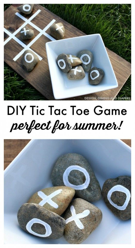 BRILLIANT DIY TIC TAC TOE GAME