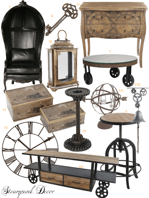 Adopt The Unconventional Steampunk Decor In Your Home Homesthetics Inspiring Ideas For