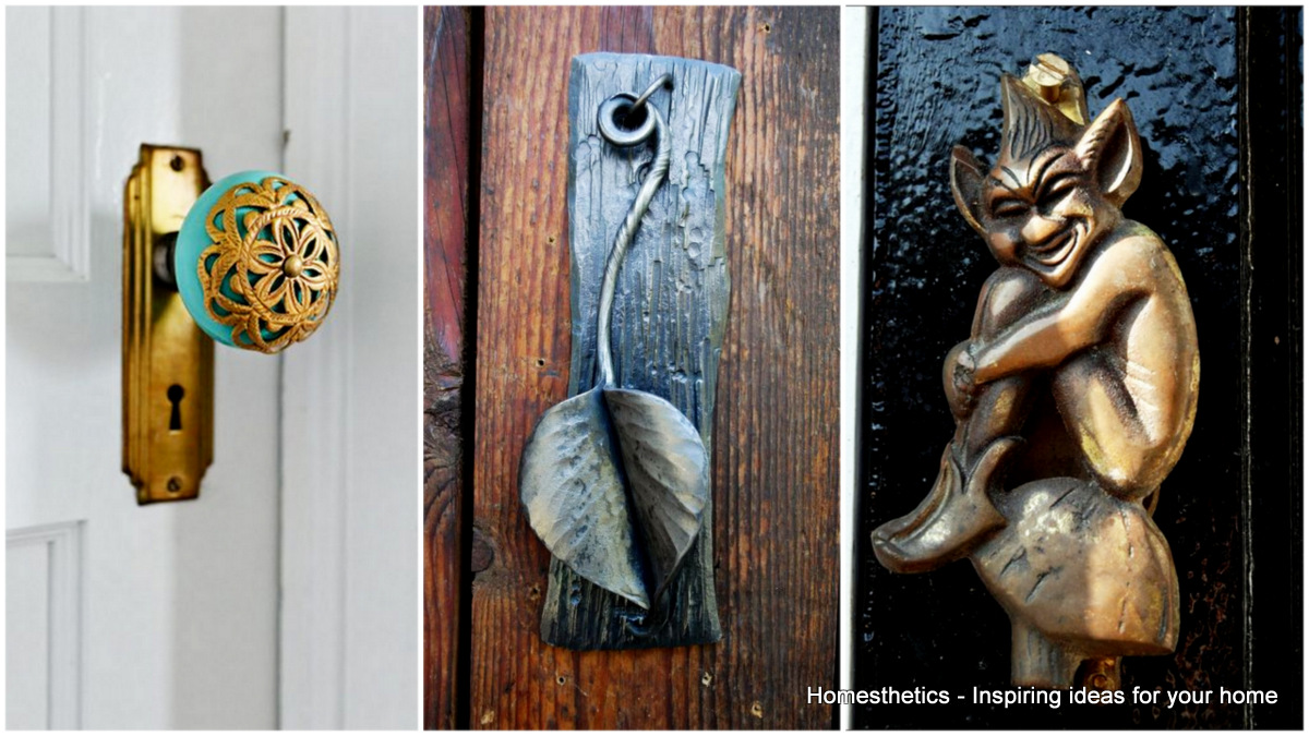Beau Unique And Interesting Door Knobs For An Appealing Front Door    Homesthetics   Inspiring Ideas For Your Home.