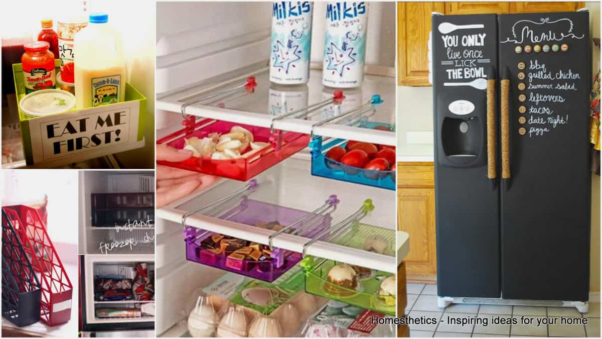 15 fridge organizing hacks you should definitely try for Kitchen organization hacks