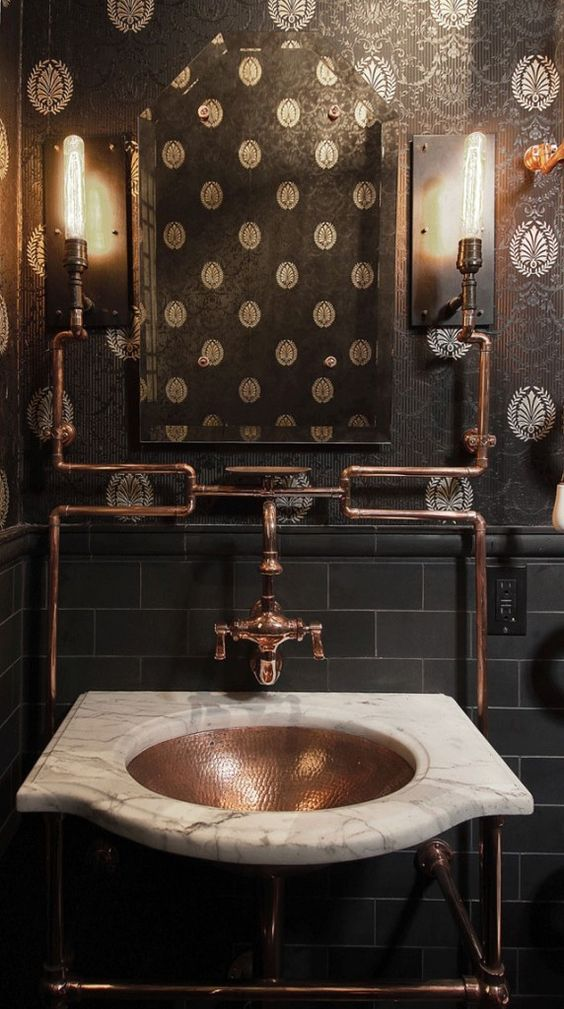 Awesome How To Try The Unconventional Steampunk Decor In Your Home homesthetics