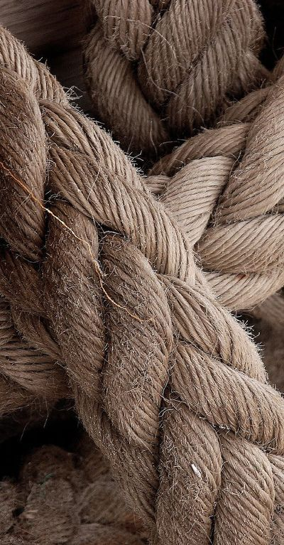 the color of rope enters the taupe palette