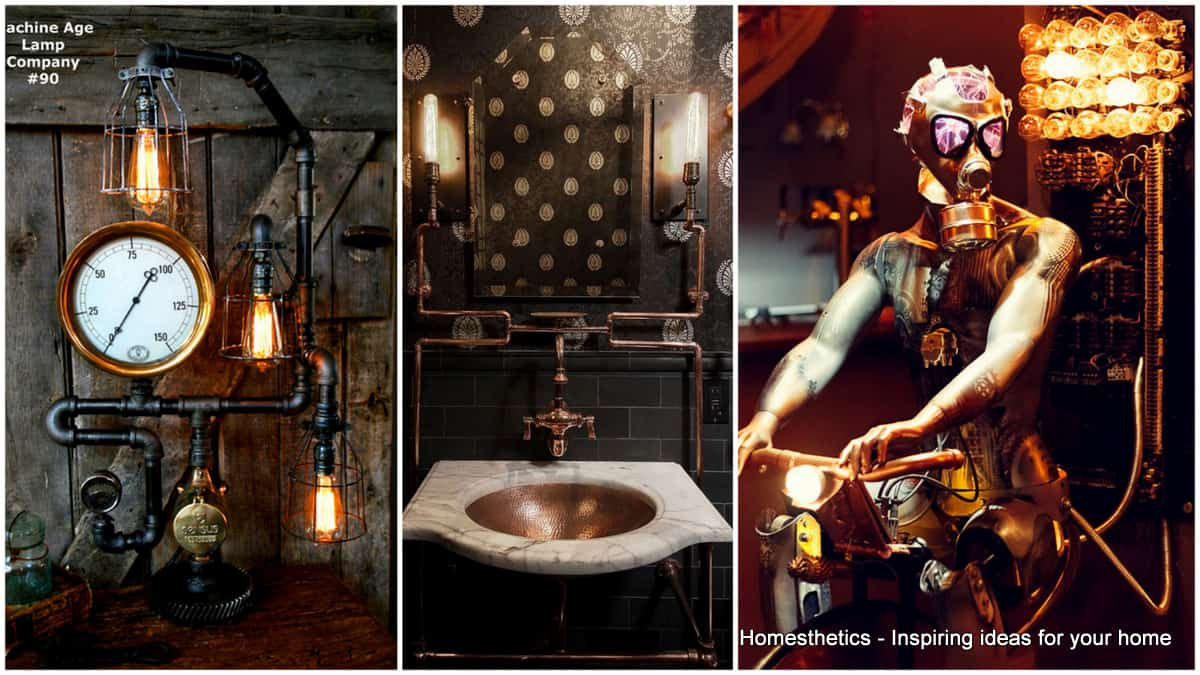 Steampunk Home Decorating Ideas Part - 15: Adopt The Unconventional Steampunk Decor In Your Home