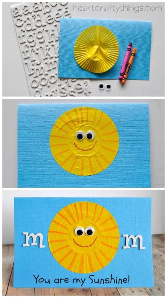 Mother Day Craft Ideas For Kids Part - 40: Motheru0027s Day Craft Ideas For Preschoolers (5)