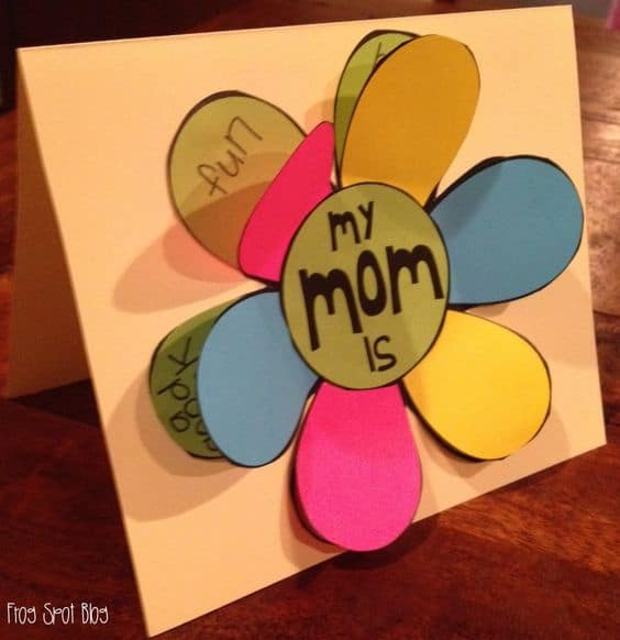 Mother 39 s day craft ideas for preschoolers homesthetics Good ideas for mothers day card