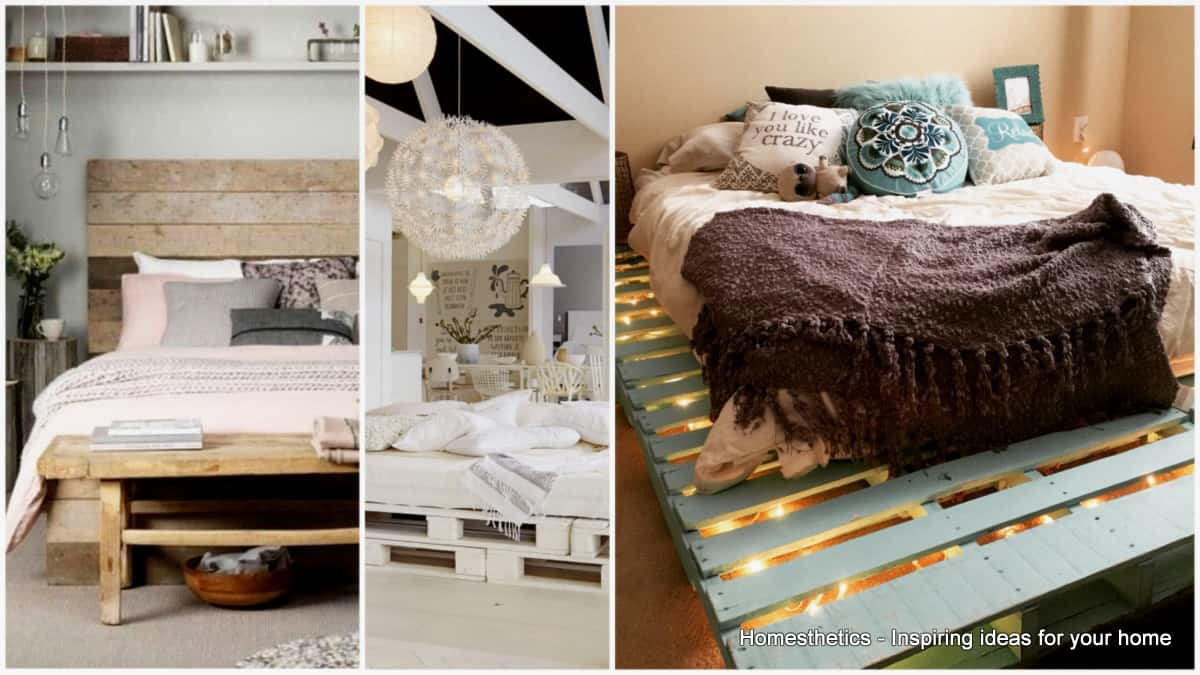 Elegant Top Recycled Pallet Bed Frames u DIY Pallet Collection