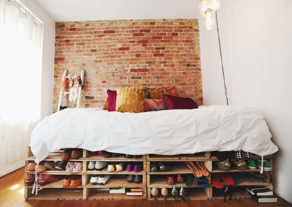 Popular Recycled Pallet Bed Frames homesthetics