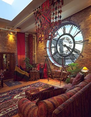 steampunk decor inspiration homesthetics 6 - Steampunk Interior Design Ideas