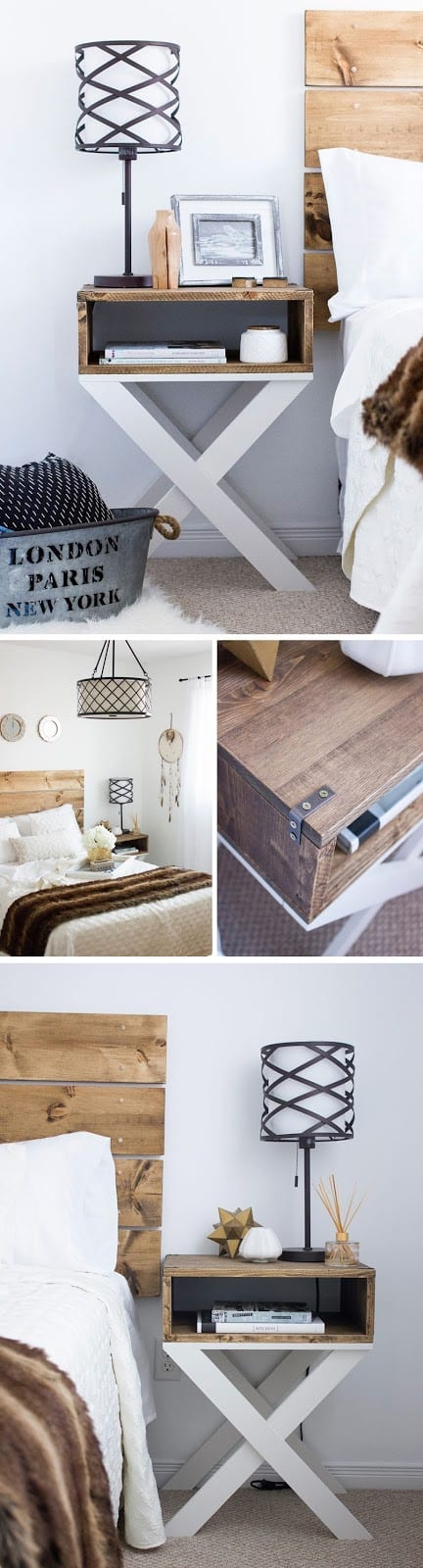 14. DESIGN BRILLIANCE - X DIY NIGHTSTAND