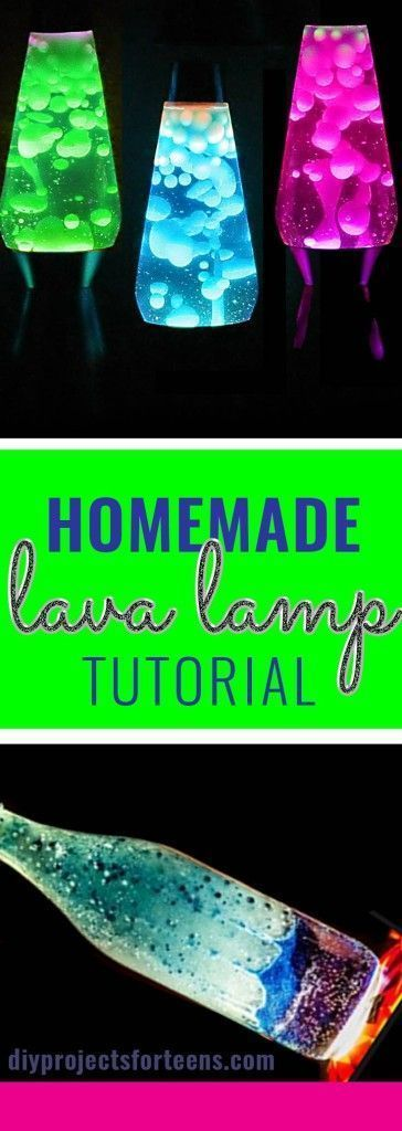 create a lava lamp at home diy