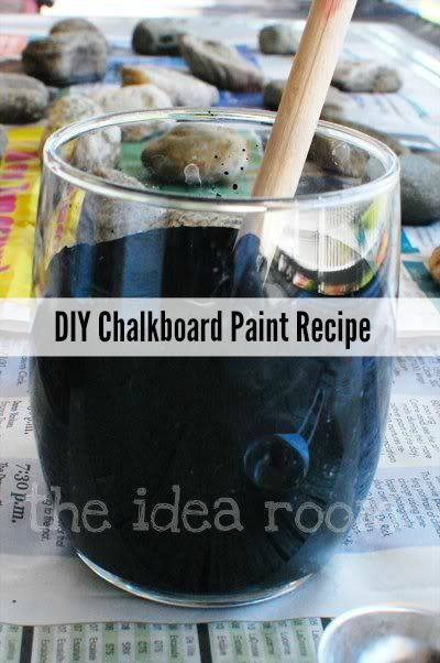 create chalkboard paint