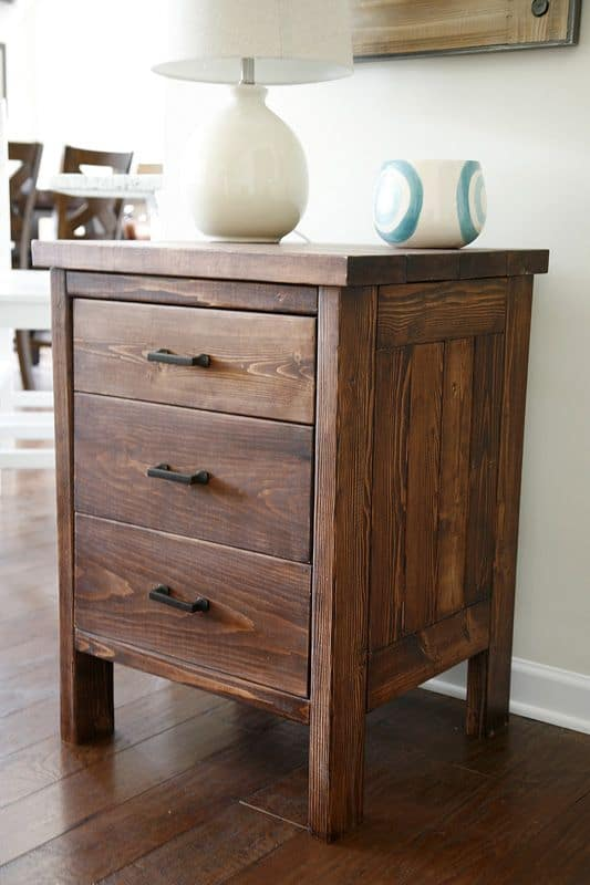3. BUILD A NIGHTSTAND FULL OF DRAWERS