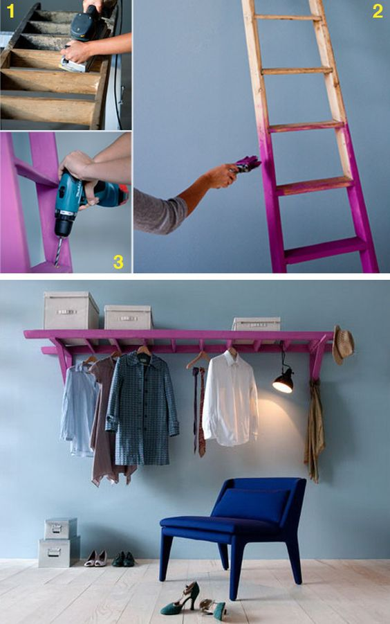 epic ladder upcycling project
