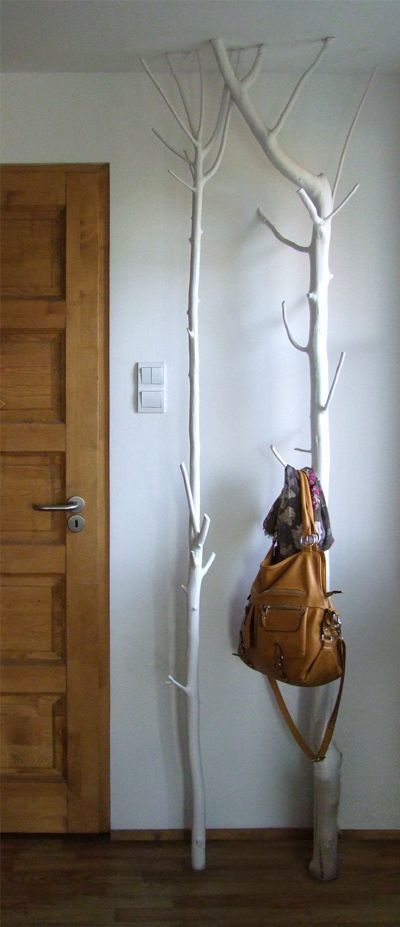 realize an epic tree coat hanger