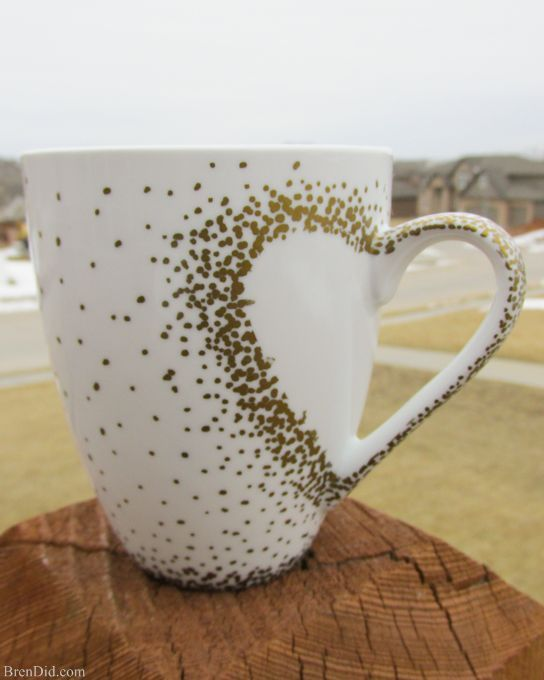 spectacykar diy craft project - sharpie mug