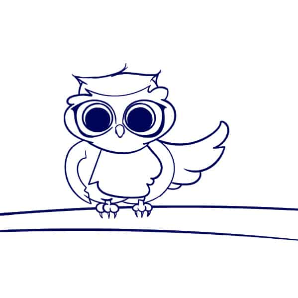 is the how to draw an owl