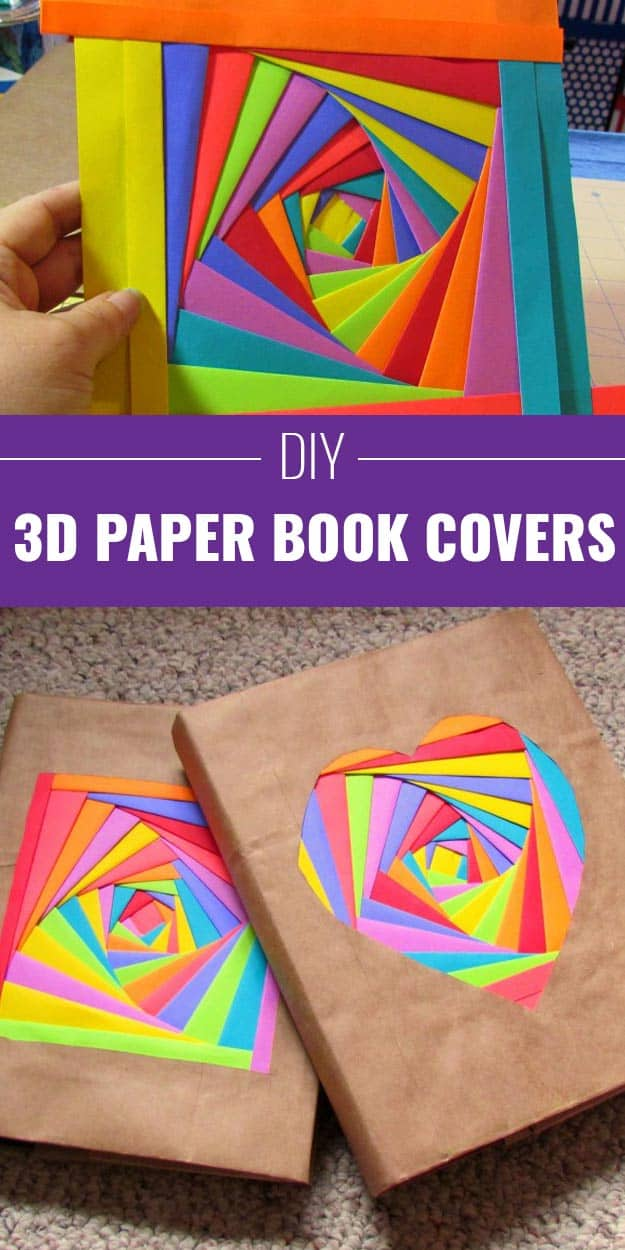 how to make a book stand out of paper