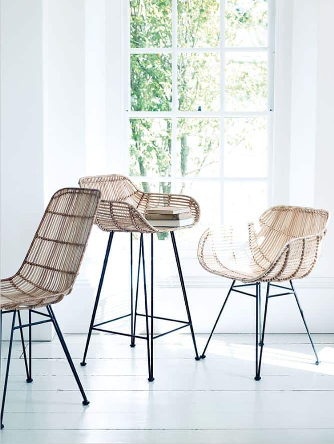 What is the difference between wicker and rattan furniture - Banquetas para cocina ...