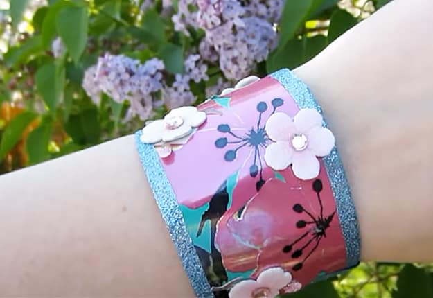 28 Craft Colorful Arizona Tea Cuff Bracelets