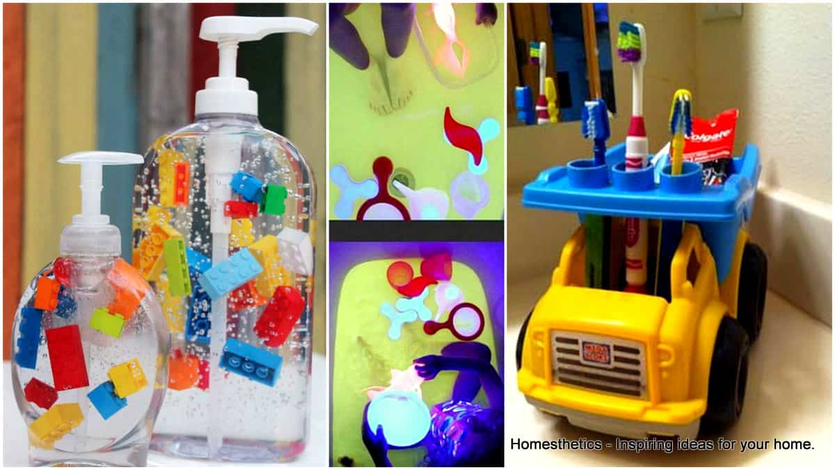 Easy to do fun bathroom diy projects for kids for Fun projects for kids to do at home